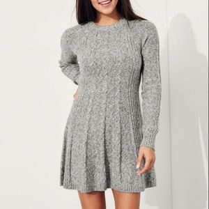 Hollister Cable Knit Sweater Dress